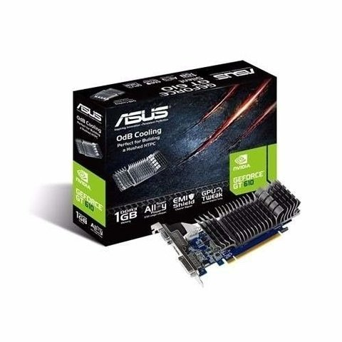 Placa De Video Gt 610 1gb Ddr3 Asus Nvidia Geforce