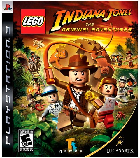 Lego Indiana Jones The Original Adventures PS3