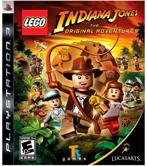 Lego Indiana Jones The Original Adventures USADO PS3