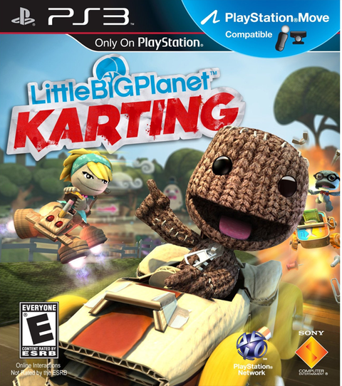 LittleBigPlanet Karting USADO PS3