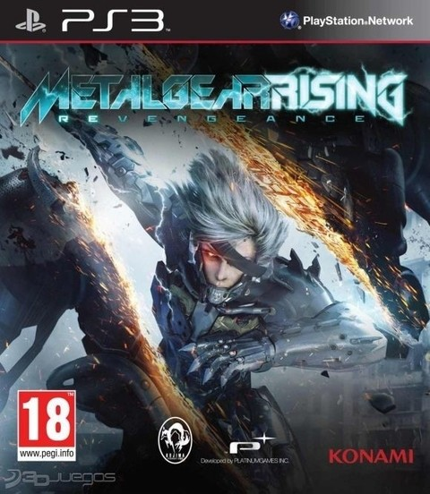 Metal Gear Rising USADO PS3