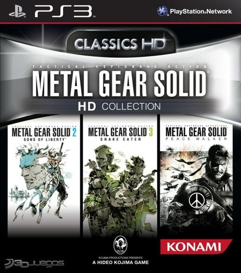 Metal Gear Solid HD Collection USADO PS3