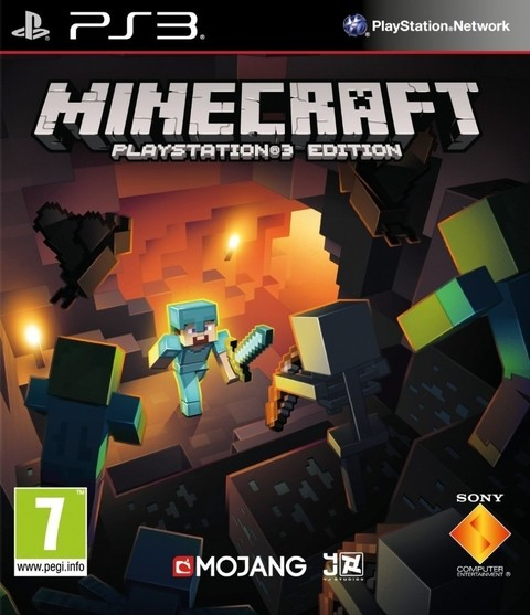 Minecraft USADO PS3