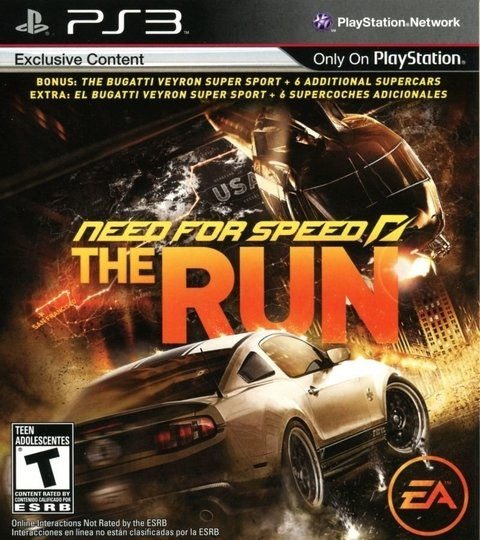 Need For Speed: The Run USADO PS3