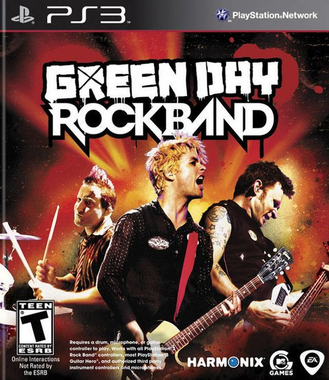 Rock Band Green Day PS3