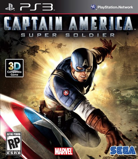 Capitan America USADO PS3