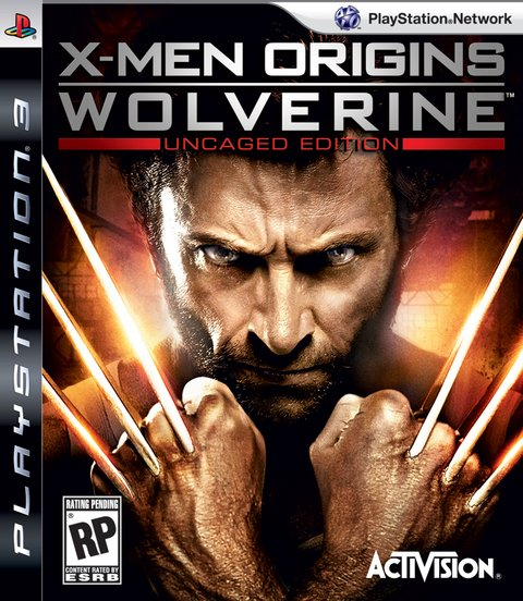 X-Men Origins Wolverine USADO PS3