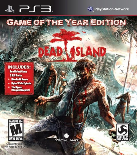Dead Island Game Of The Year Edition USADO PS3