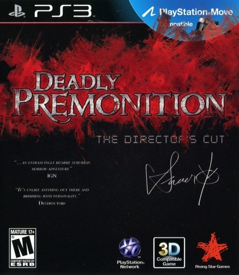 Deadly Premonition USADO PS3
