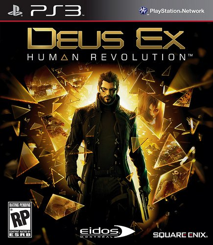 Deus Ex Human Revolution USADO PS3
