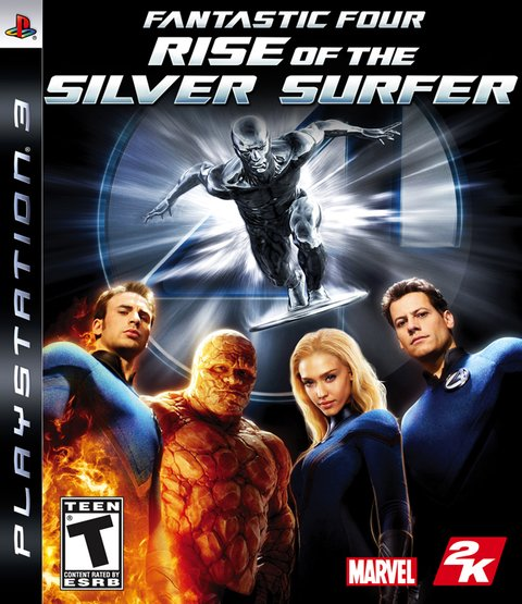 Fantastic Four: Rise Of The Silver Surfer USADO PS3