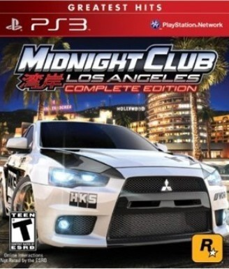 Midnight Club: Los Angeles USADO PS3