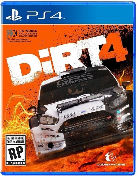 Dirt 4 USADO PS4