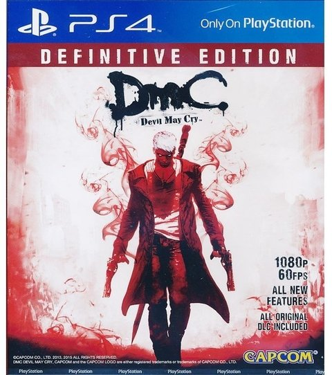 DMC Devil May Cry Definitive Edition USADO PS4