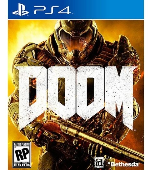 Doom USADO PS4