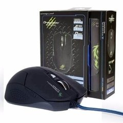 Mouse Gamer Elephant Dragonwar Dragunov 3200dpi + Mouse Pad