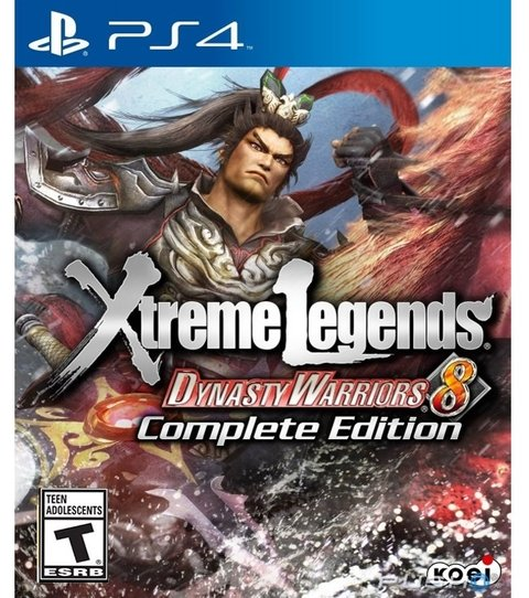 Dynasty Warriors 8: Xtreme Legends - Complete Edition PS4