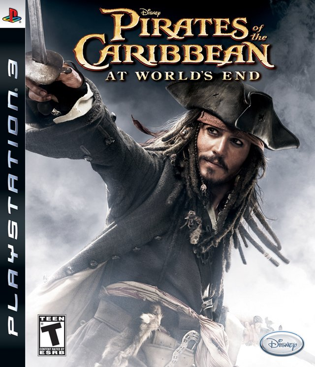 Pirates Of The Caribbean At World End USADO PS3