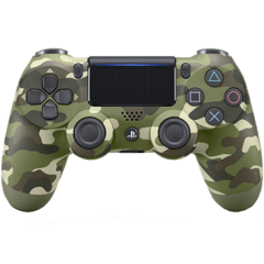 Sony DualShock 4 Controller - Green Camouflage