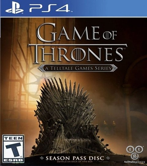 Game Of Thrones A Telltale Games Series USADO PS4