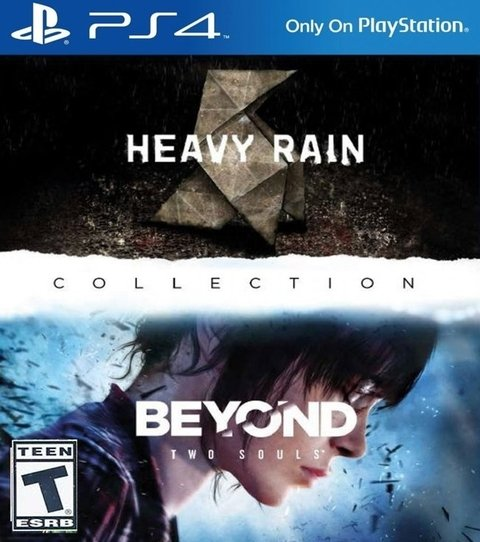 Heavy rain + Beyond Two Souls USADO PS4