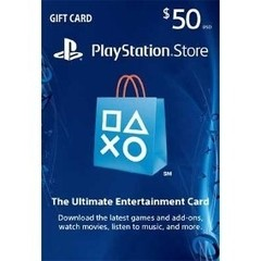 Codigo Playstation Network U$50 [USA]