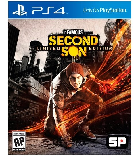 inFAMOUS: Second Son USADO PS4