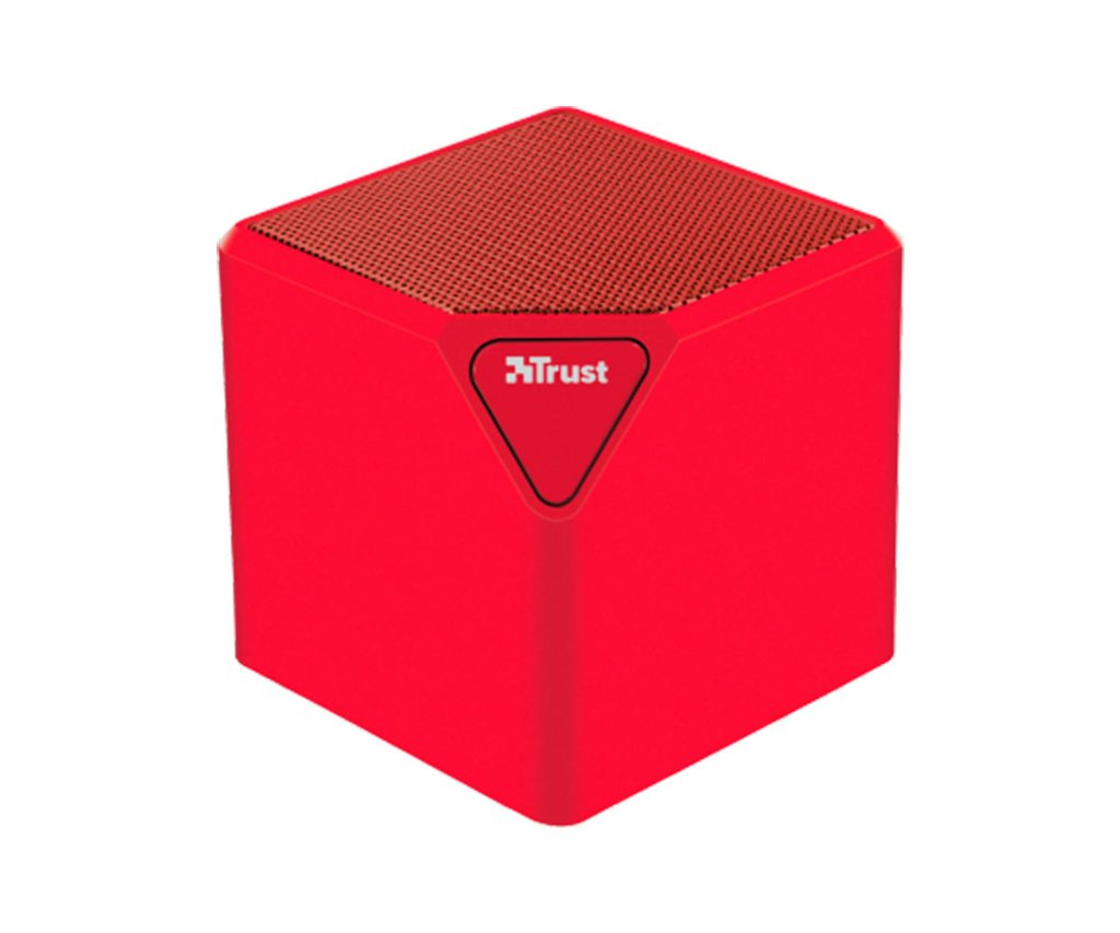 Mini Altavoz inalambrico Bluetooth Trust Rojo