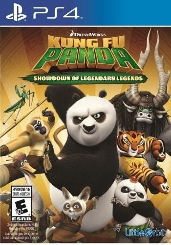 Kung Fu Panda Showdown of legendary Legend PS4