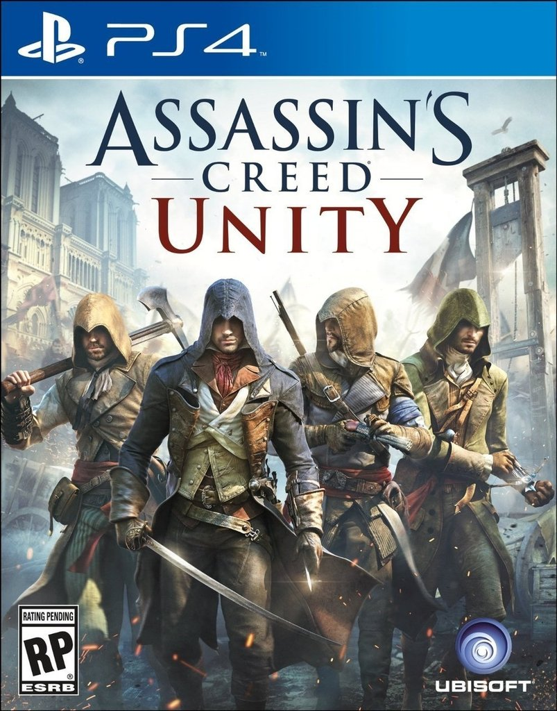 Assassin's Creed Unity USADO PS4