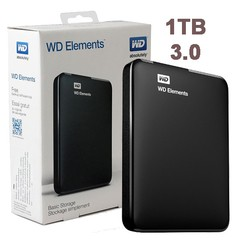Disco Externo WD Elements 1TB USB 3.0 Portable