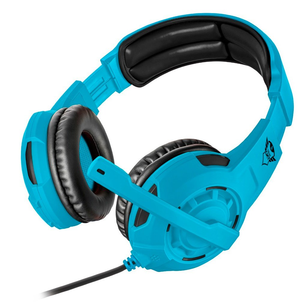 Gaming Headset Trust Gxt 310 Spectra Colores Fluo Azul