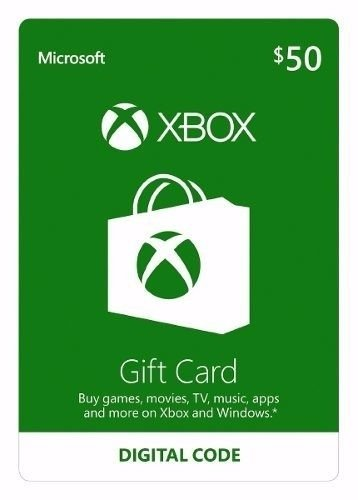 Gift Card 50 USD Xbox One