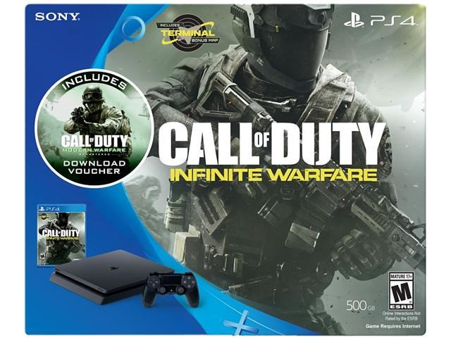 Sony PlayStation 4 Slim 500GB - Call of Duty: Infinite Warfare  Bundle