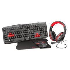 Kit Gamer Trust Ziva 4-in-1 Gaming Bundle