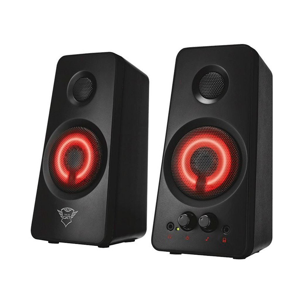 Parlante Trust Illuminated Speaker Set GXT 608 Negro