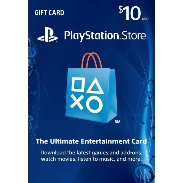 Codigo Playstation Network U$10 [USA]