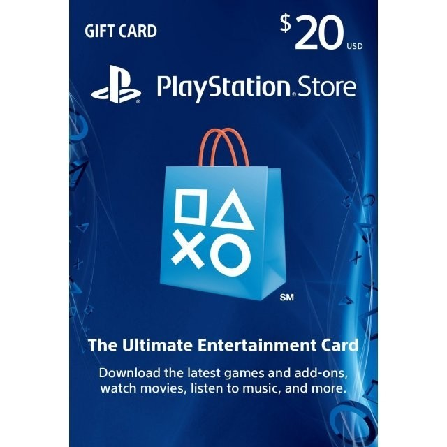 Codigo Playstation Network U$20 [USA]