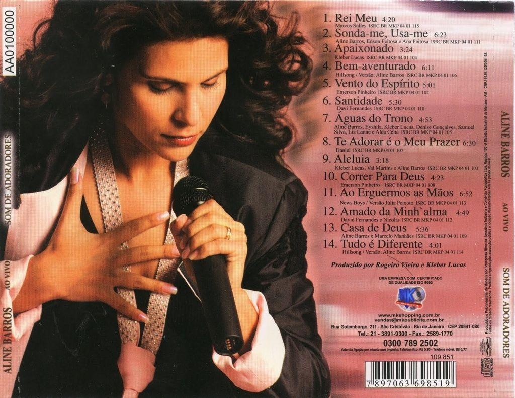 gratis cd de aline barros som de adoradores