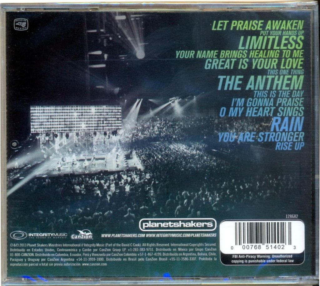cd planetshakers limitless