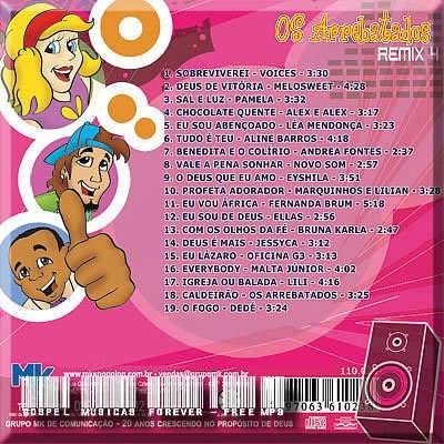 o cd arrebatados remix 4