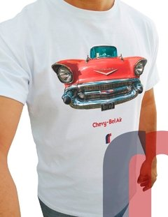 C115 CAMISETAS CHEVROLET BEL AIR