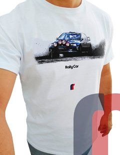 R114 CAMISETA RALLY CAR