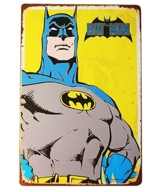 Cartel Batman yellow