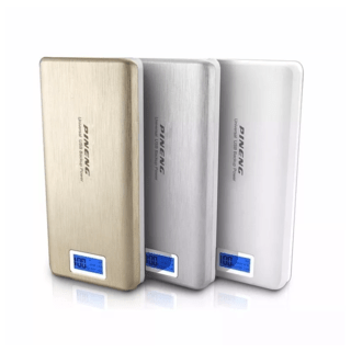 Carregador Bateria Portátil 20000mah Power Bank Pineng Pn999