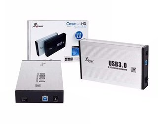 Case Para Hd 3,5 Pc Usb 3.0 Sata Uso Externo Knup Hd004