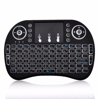 Mini Mouse E Teclado Wireless Tv Smart Pc Projetor