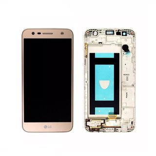 Tela Frontal Lcd Display Touch Lg K10 Power Lgm320 Original