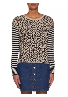 SWEATER PRINT RAYAS - Liguria
