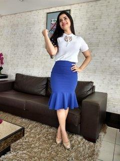 8002 - Saia Sandra Azul